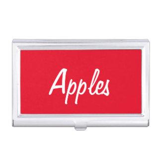 Apples Business Card Holder