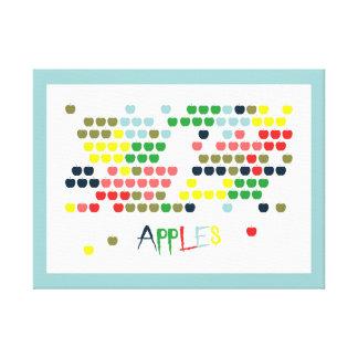 Apples creative canvas print