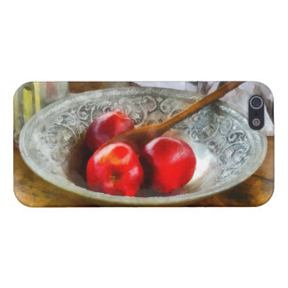 Apples in a Silver Bowl Case For iPhone 5