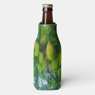 Apples on a tree bottle cooler