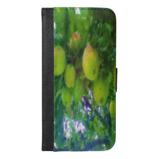 Apples on a tree iPhone 6/6s plus wallet case