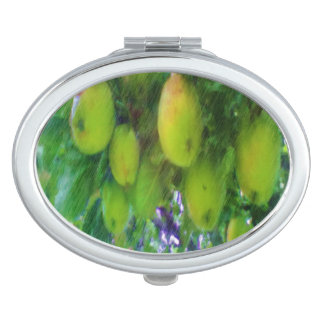 Apples on a tree makeup mirror