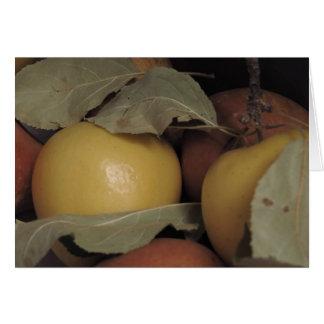 Apples on Pears Card