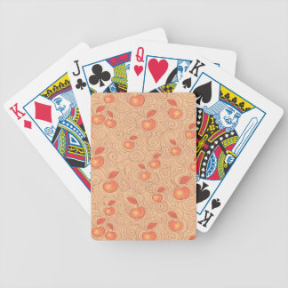 Apples Pattern Bicycle Playing Cards