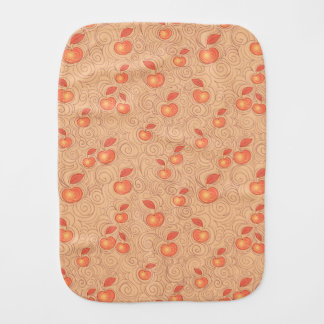 Apples Pattern Burp Cloth