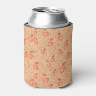 Apples Pattern Can Cooler
