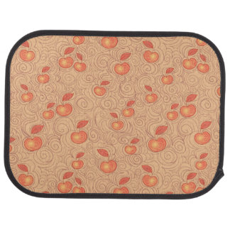Apples Pattern Car Mat