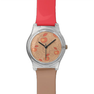 Apples Pattern Watch