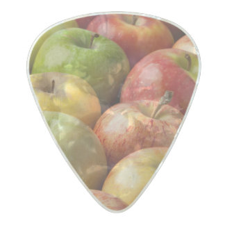Apples - Ripe & Colorful Pearl Celluloid Guitar Pick