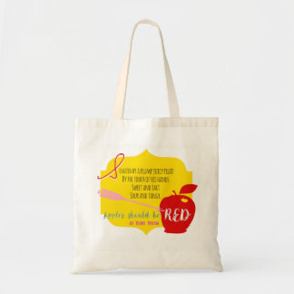 Apples Should Be Red Tote Bag