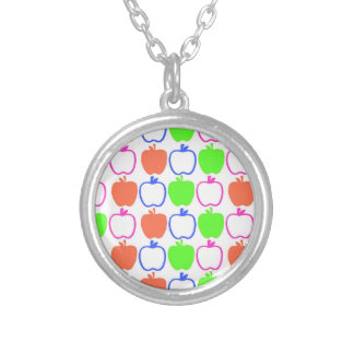 Apples Silver Plated Necklace