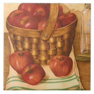Apples Still Life Tile