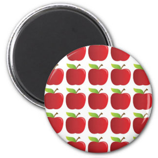 Apples to Apples 6 Cm Round Magnet