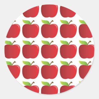 Apples to Apples Round Sticker