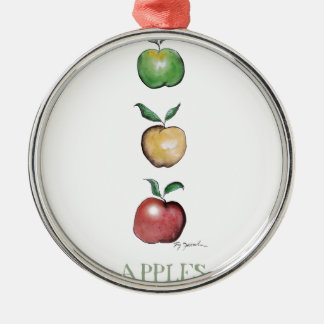 Apples, tony fernandes christmas ornament