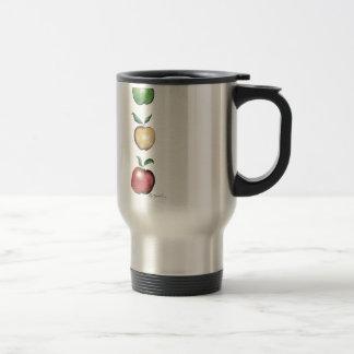 Apples, tony fernandes travel mug