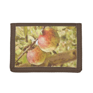 APPLES TRIFOLD WALLETS