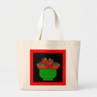 Apples (Washington) Large Tote Bag