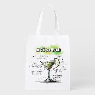 AppleTini Drink Recipe Design