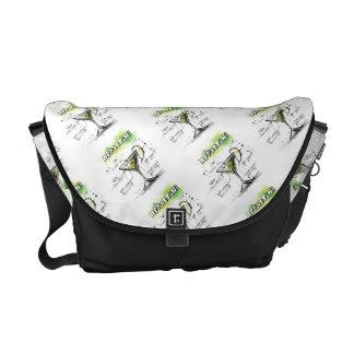 AppleTini Drink Recipe Design Commuter Bags
