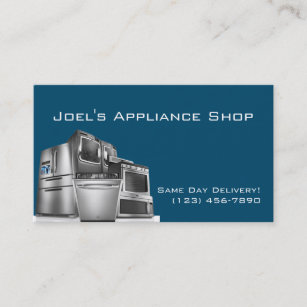 appliance repairs business cards zazzle uk rh zazzle co uk Appliance Repair Ads appliance repair business cards templates