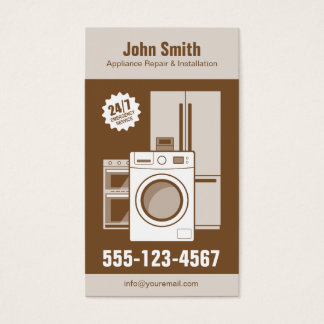 Appliance Repair, Service and Installation