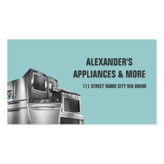 Appliances Sales Installation Repair Business Card Template