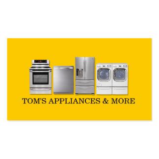 Appliances Sales Installation Repair Business Card Templates