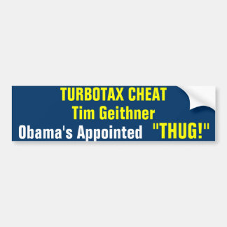 Appointed Thug Bumper Stickers