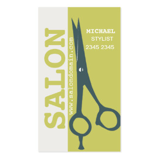 Appointment Re-Booking Success Salon Hair Scissors Pack Of Standard Business Cards