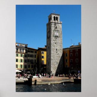 Apponale Tower Riva del Garda Italy Poster