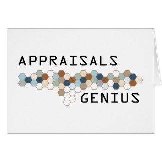 Appraisals Genius Greeting Cards