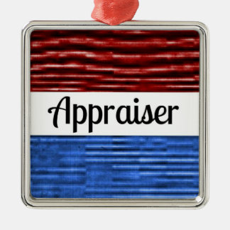 Appraiser Patriotic Christmas Ornament