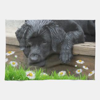Appreciate the Little Things - Black Labrador Tea Towel