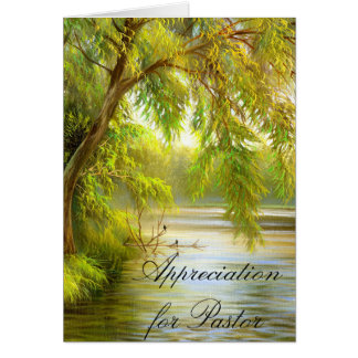 Appreciation for Pastor Greeting Card