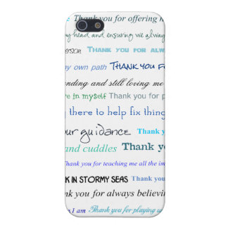 Appreciation series - Thank you dad for... iPhone 5/5S Cover