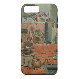 Apprentice in an Alchemy Lab iPhone 7 Plus Case