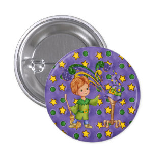 Apprentice Wizard 3 Cm Round Badge