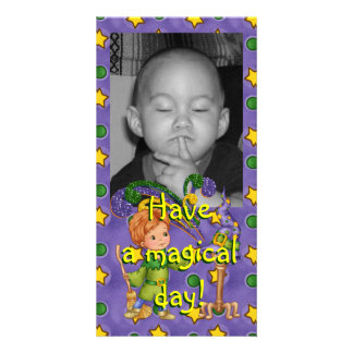 Apprentice Wizard Photo Greeting Card