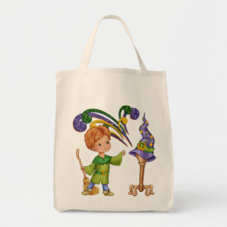 Apprentice Wizard Grocery Tote Bag