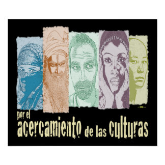 Approach of the cultures poster
