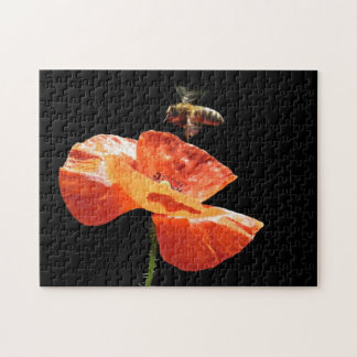 Approach on poppy flower -  Puzzle