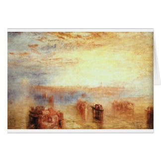 Approach to Venice by William Turner Card
