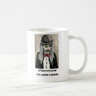 Approach with caution ghoul mug