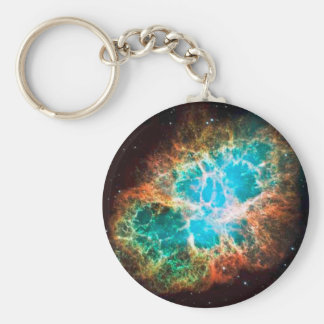 Approaching Crab Nebula Keychain