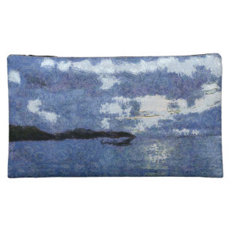 Approaching storm cosmetic bags