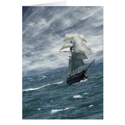Approaching Storm Card