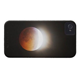 Approching the Total Eclipse of the Moon iPhone 4 Case-Mate Case