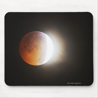 Approching the Total Eclipse of the Moon Mouse Pad