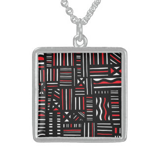 Approve Spirited Jubilant Graceful Square Pendant Necklace